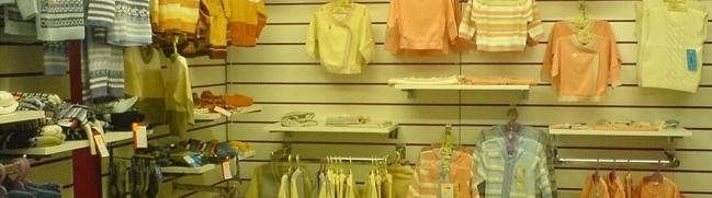 Торговые экономпанели для магазина детских товаров