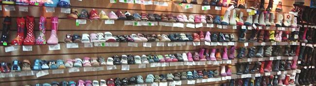 Экономпанели для магазина обуви