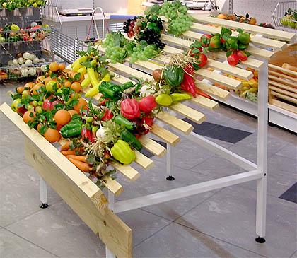 Овощные развалы для магазинов +7 (499)966-45-40