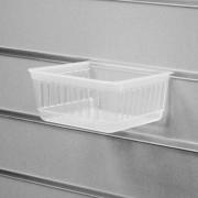Короб для экономпанели пластиковый, прозрачный 01-310-CL