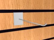 Крючок для экономпанелей одинарный 100мм