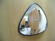 Зеркало для помещений треугольное 330x330x360