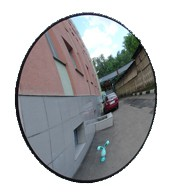 Зеркало для помещений круглое D-600