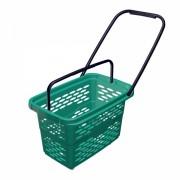 Покупательская корзинка-тележка 40 л Shols