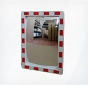 Зеркало дорожное с подогревом со СВ окантовкой 600x800