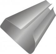 Вставка алюминиевая на экономпанель